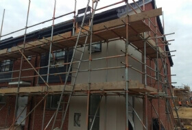 Building Site Scaffold Commercial