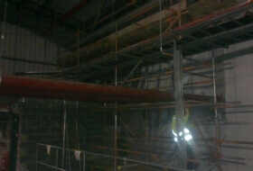 Fire Curtain Scaffold Asda in Bedford