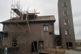 Chimney Stack Scaffold Corby