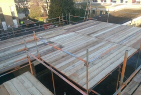 Scaffolding For Sports Gym Bedford