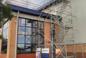 Edge Protection Scaffold Wellingborough
