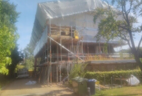 Temporary Roof Scaffold Cambridge