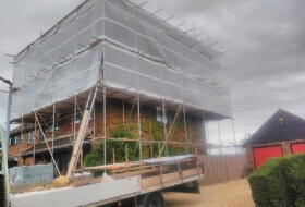 Temporary Roof Scaffold Harpenden