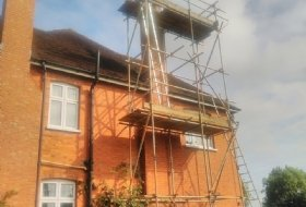 Scaffolding in Bedford