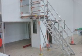 Access Stair Scaffold in Bedford